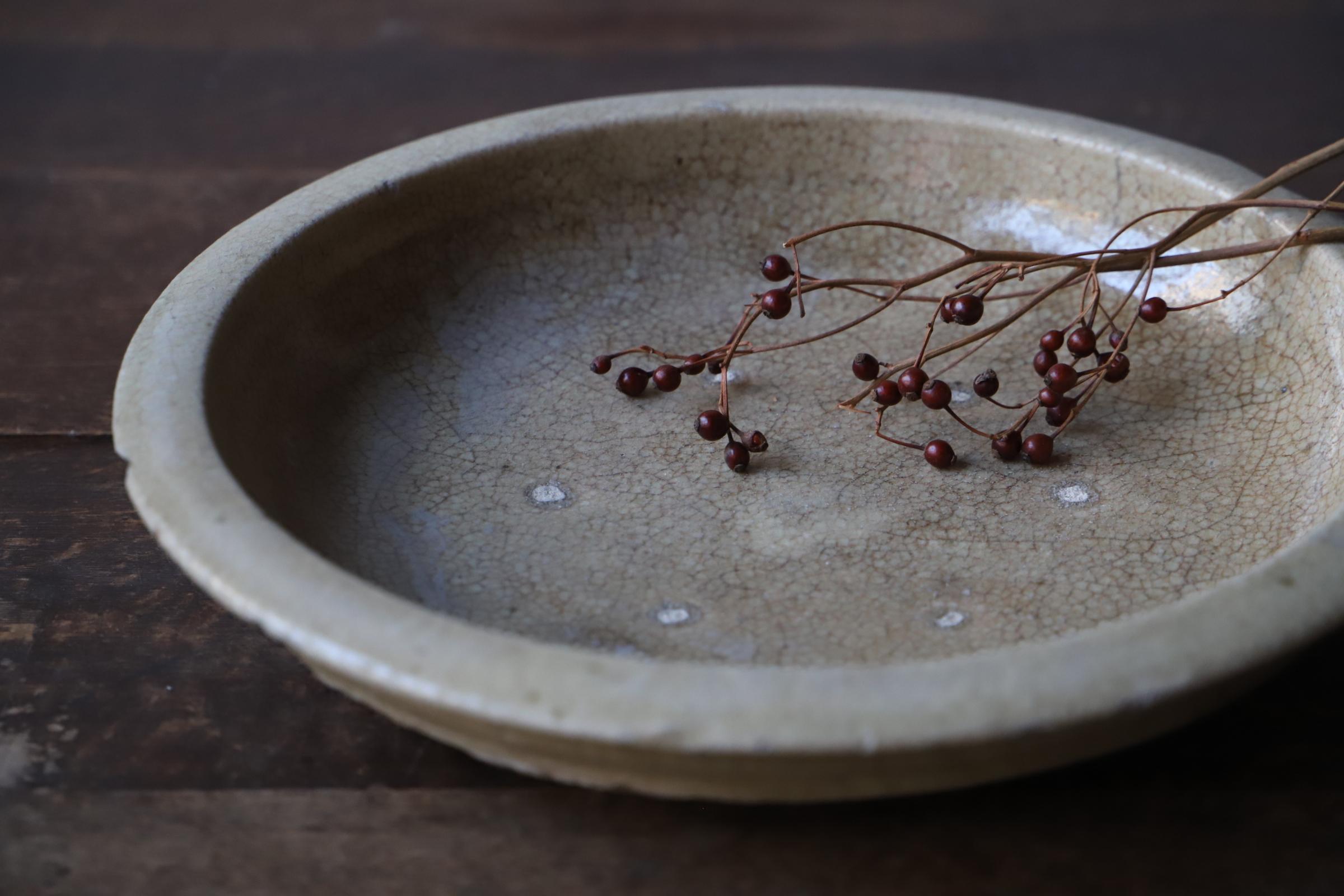 風合いの良い石皿
