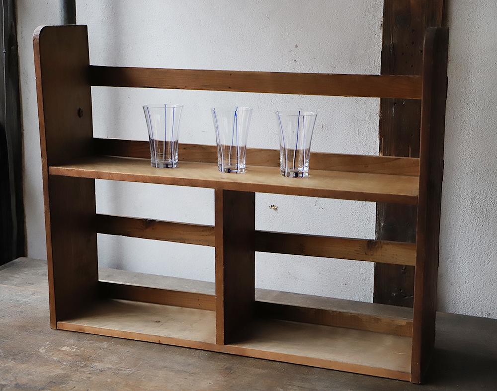 木製の卓上棚